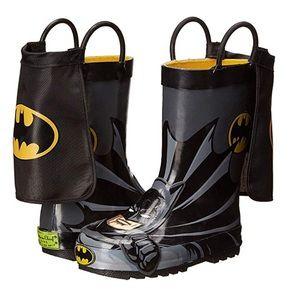 Western Chief Kids Batman  Rain Boots Size 9